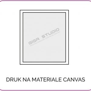 Druk Na Materiale Canvas